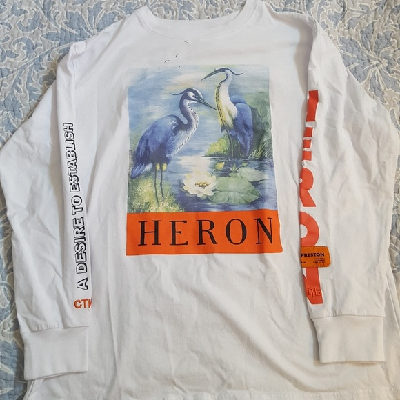 Heron Preston Shirts Long Sleeve Poshmark